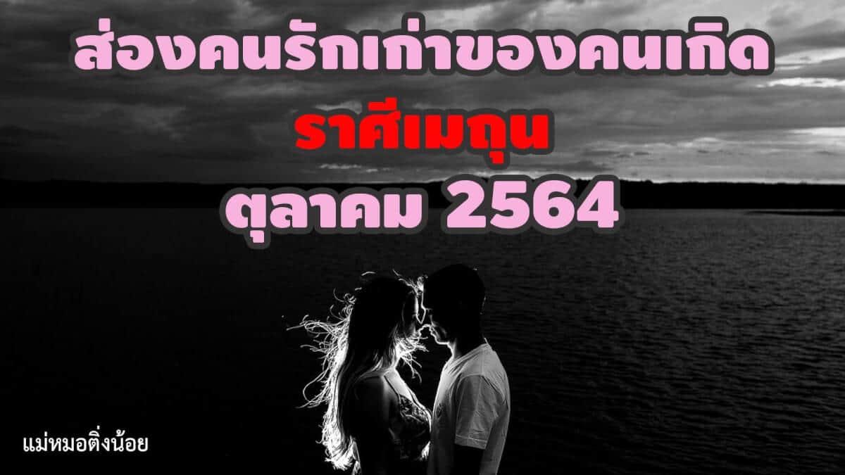 ส่องคนรักเก่า-ราศีเมถุน-ราศีมิถุน-เดือนตุลาคม-2564-แม่หมอติ่งน้อย-ดวงความรัก