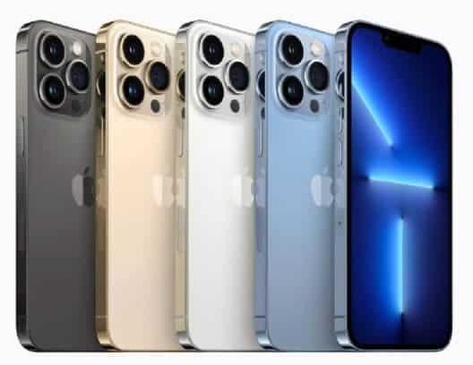 ไอโฟน 13 โทรศัพท์มือถือรุ่นล่าสุด